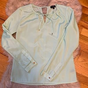 EUC The Limited Mint Blouse XS